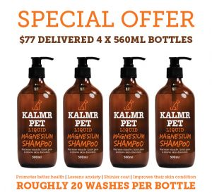 Kalmr Pet Shampoo 500ml x 4
